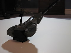 Scorpion Turret (done) (Benny Brickster) Tags: tank lego halo wip scorpion master turret cheif wraith covenant unse