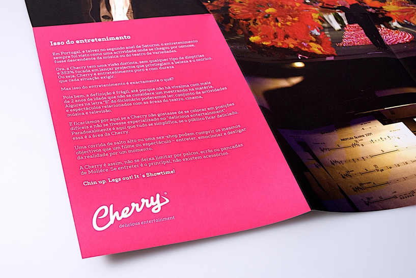 Cherry Invitation