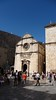 Entering Dubrovnik Old Town