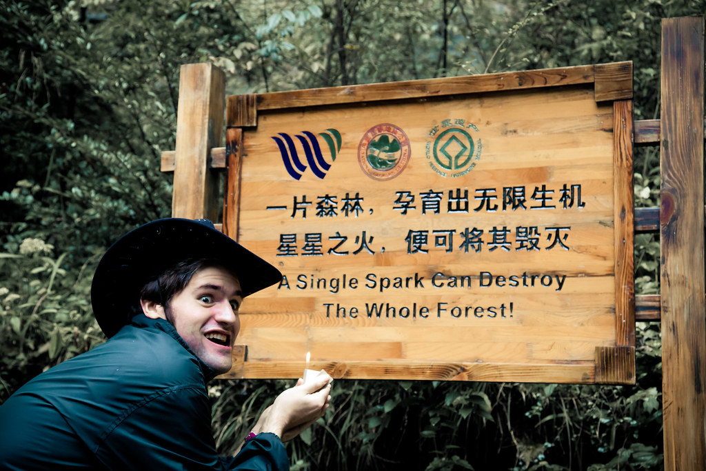 A Single Spark can Destroy A Forest - Trip to ChongQing ( 重庆 )
