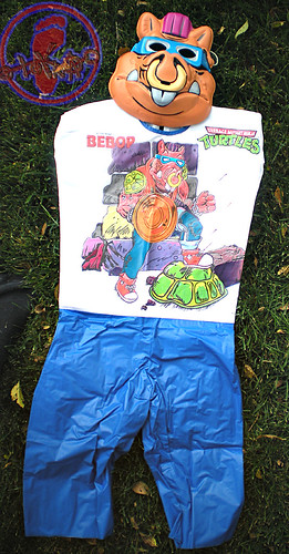 "Collegeville Costumes :: TEENAGE MUTANT NINJA TURTLES { OPPOSITION FORCES! } : ""BEBOP"" TINY TOT Costume with Mask v  (( 1990 ))"