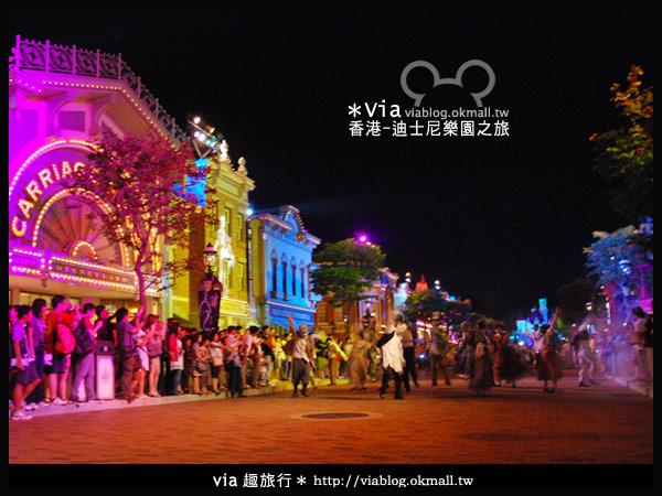 【香港旅遊】跟著via玩香港(2)~迪士尼萬聖節夜間遊行超精彩!25