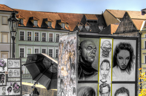 Portraits. Prague. Retratos. Praga