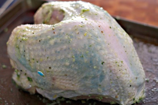 Herb Roasted Turkey Breast | TheNoshery.com