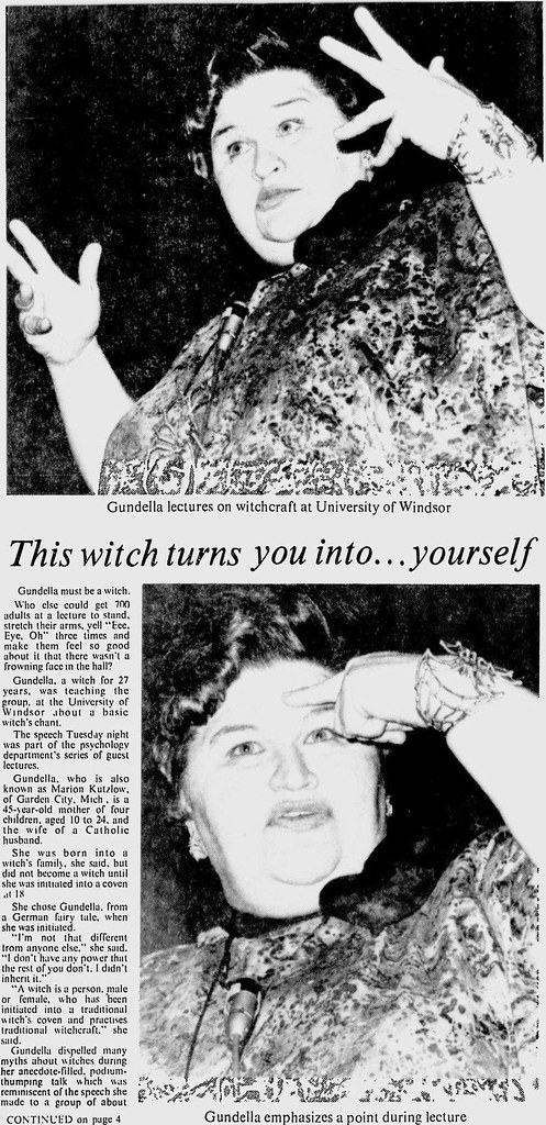 This Witch turns you into... yourself  pt. 1
