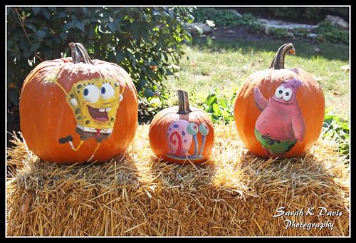 Spongebob Pumpkins