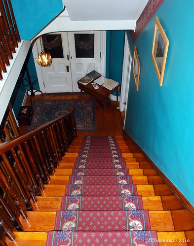 Stairway at the Chapman Inn