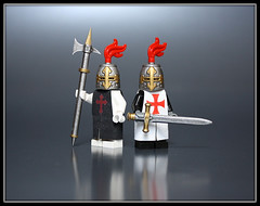 Crusaders (Geoshift) Tags: lego littlearmory brickforge mmcb customminifig legocustomminifig