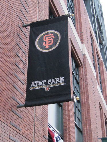 SF Giants AT&T Park Signage