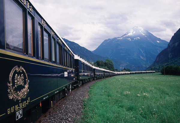 luxury train europe