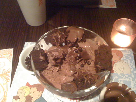 Max Brenner Chocolate Sundae of doom