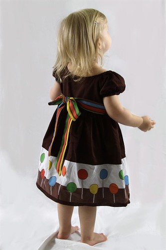 Christmas Toddler Lollipop Dress