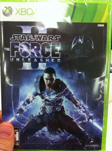 Star Wars: Force Unleashed 2 obtained. Can't wait to play.