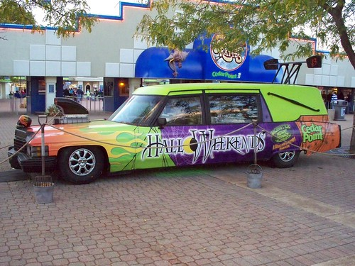 Cedar Point - Halloweekends Hearse