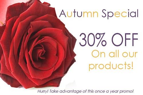 Autum Special 30 off