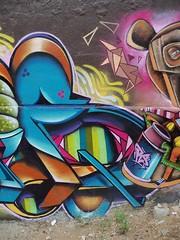 E (COLOR IMPOSIBLE CREW) Tags: chile graffiti valparaiso painters 2010 valpo zade playaancha fros drems