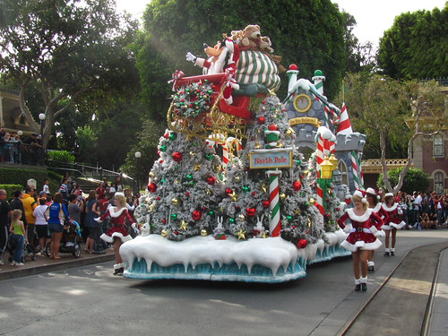 Taping of A Christmas Fantasy Parade for the Disney Parks Christmas Day Parade Special