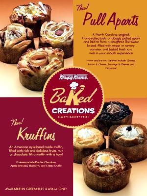 Krispy Kreme's Baked Creations - CertifiedFoodies.com