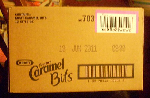 A case of caramels