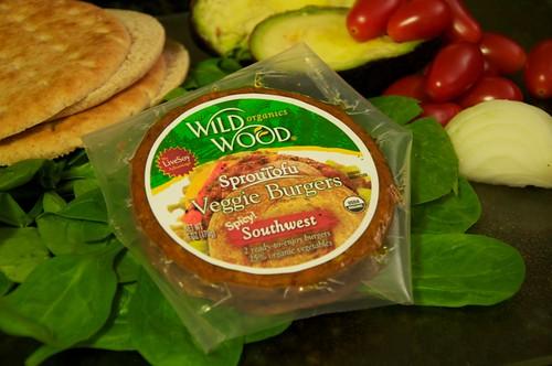 Wild Wood Organics SprouTofu Veggie Burgers