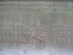 Churning the Ocean of Milk carving (tom_2014) Tags: sculpture art asia cambodia southeastasia vishnu angkorwat carving relief siemreap angkor hindu hinduism churning hinduart churningtheoceanofmilk khymer samudramanthan
