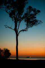 Moreton Sunset (lakesly) Tags: sunset night outdoor australia imagespace:hasdirection=false