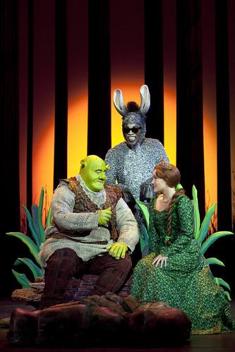 Shrek The Musical.Cadillac Palace Theatre..