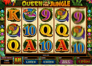 Queen of the Jungle slot game online review