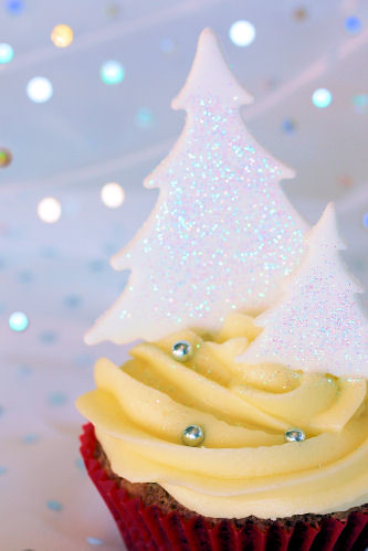 Cherrapeno Tesco S Christmas Cupcake Decorating Competition
