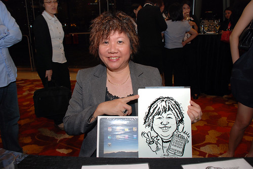 caricature live sketching for 2010 Asia Pacific Tax Symposium and Transfer Pricing Forum (Ernst & Young) - 19