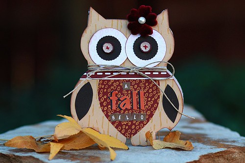 Fall Hello Card
