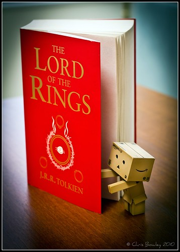 Danbo starts his new book