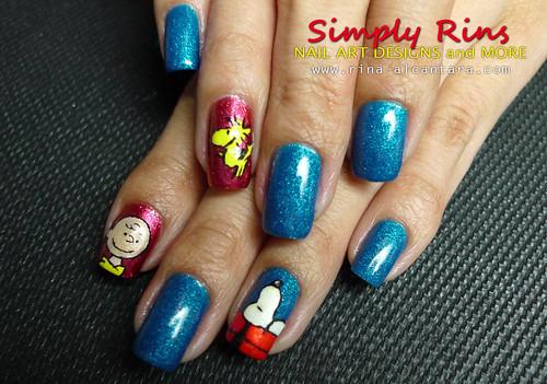 Nail Art- Snoopy 04