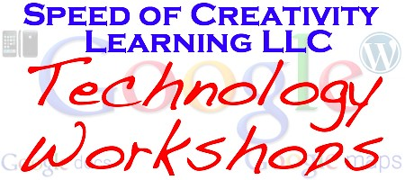 Speed of Creativity Technology Workshops