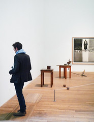 Joseph Beuys, Table with Accumulator with Viewer