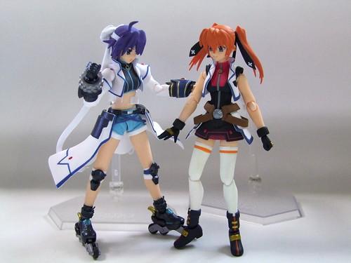 スバルとティアナ/Subaru and Teana