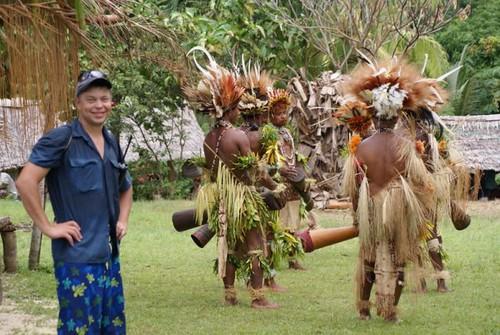 PNG dancers