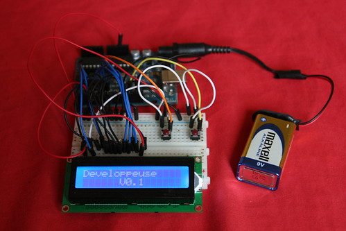 DIY Autolab LCD screen