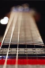 Joe (Jamie White.) Tags: red bokeh guitar strings ibanez pickups joesatriani electricguitar js100