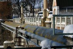 Huk (Marrush) Tags: old winter hydroelectric hradeckralove huk vodn elektrrna