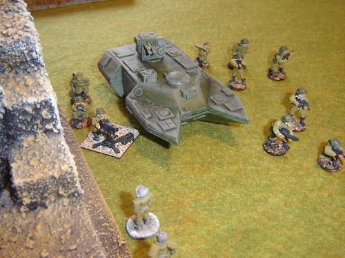 APC disgorges squad