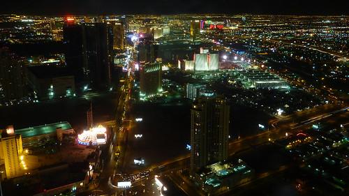 las vegas sign at night. Las Vegas at night