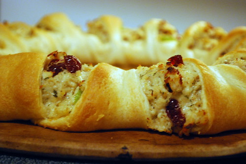 Pampered Chef Turkey Cranberry Braid