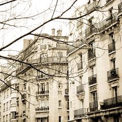 Paris in november