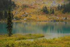 Mount Marriott (Ziemek T) Tags: autumn lake britishcolumbia mountmarriott