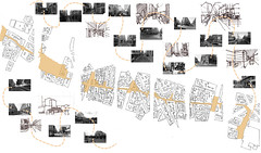 A Psychogeographical Map of Paris (ryanprb) Tags: paris drawing pedestrian psychogeography drive