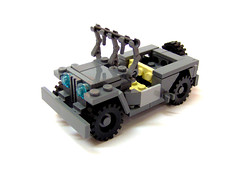 New willys' jeep. (Carpet lego) Tags: white wheel dark grey lego jeep background tan tire american seats ww2 spare mb willys allies bluish wheeltire