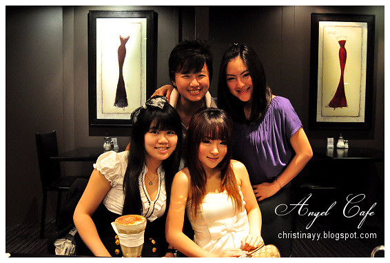 The Angel Cafe: Girls Groupie