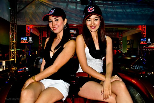5197831246 7b0d237245 Hot Sexy Models Shine at Manila Auto Salon 2010