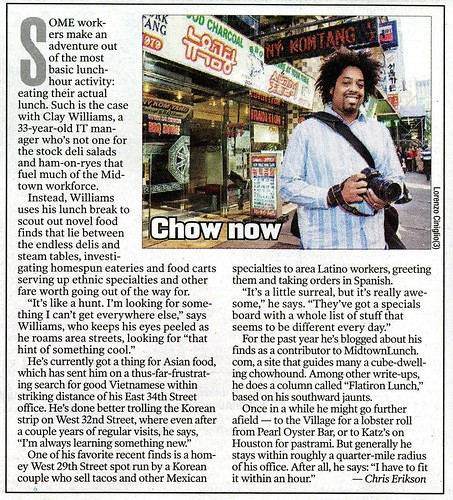 NY Post - @Work - 2010.11.22